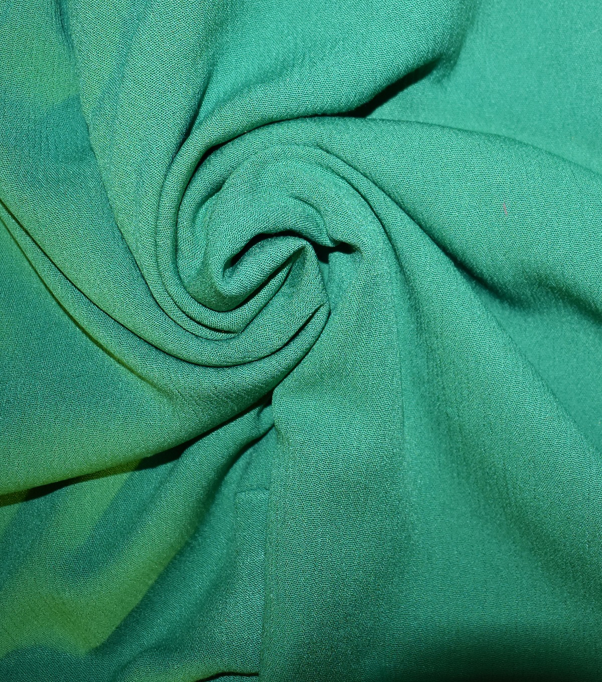 Silky Gauze Fabric 45\u0022-Green Pepper