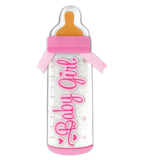 Jolee\u0027s By You Dimensional Slim Stickers-Girl Bottle