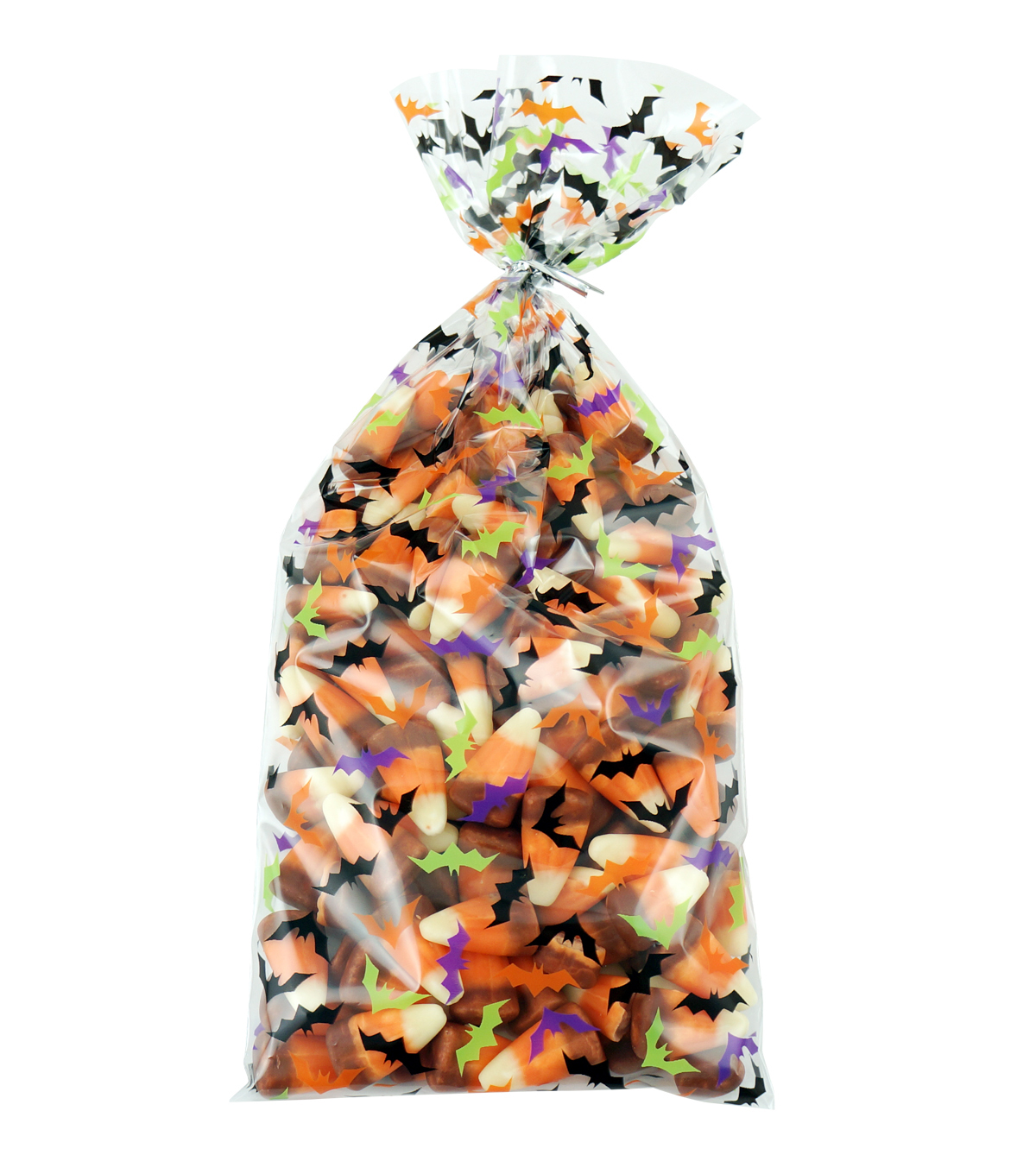 Cheer & Co. Halloween 20 pk 4\u0027\u0027x9.5\u0027\u0027 Cellophane Bags-Bats