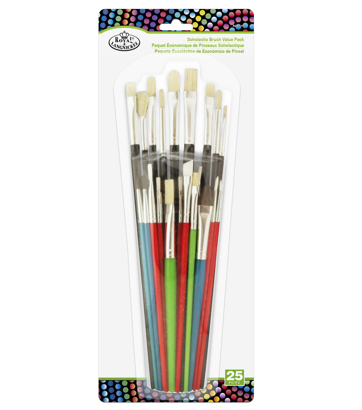 Royal & Langnickel® Schoolastic Brush Value Pack 25pk