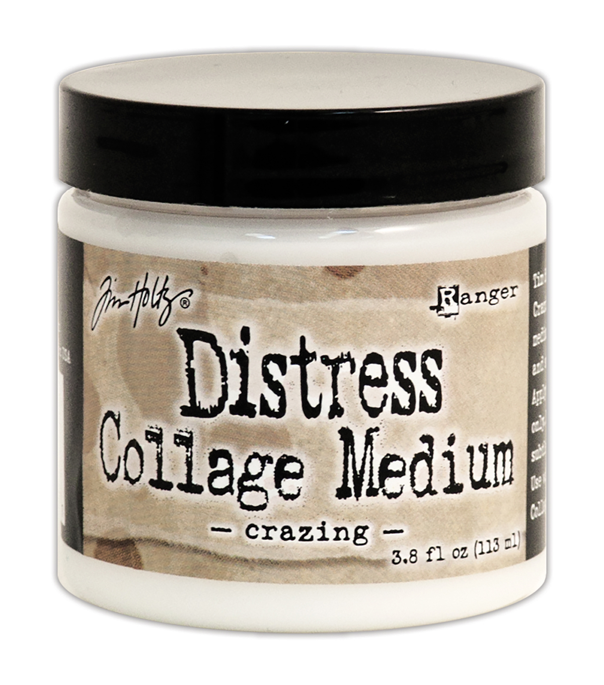 Tim Holtz Distress Collage Medium-Crazing