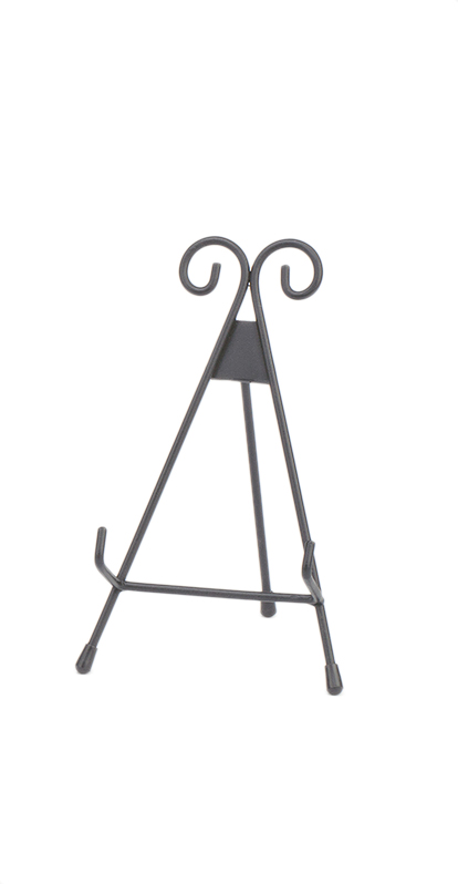 13\u0022 Black Metal Easel