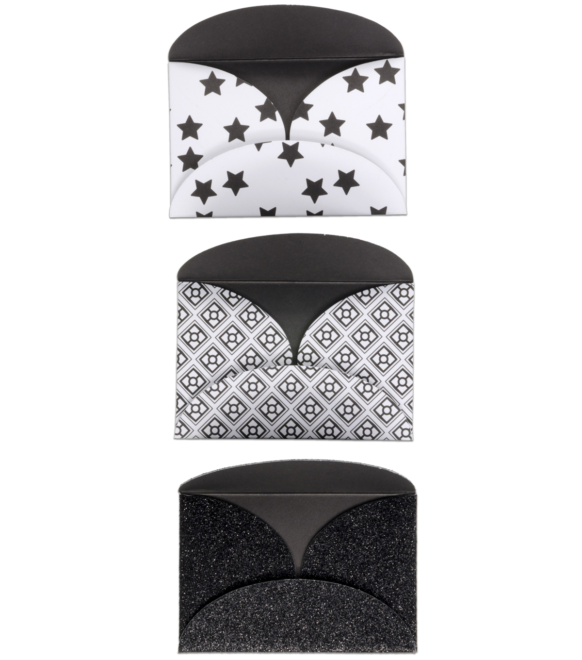 K&Company Black And White Gift Card Holders