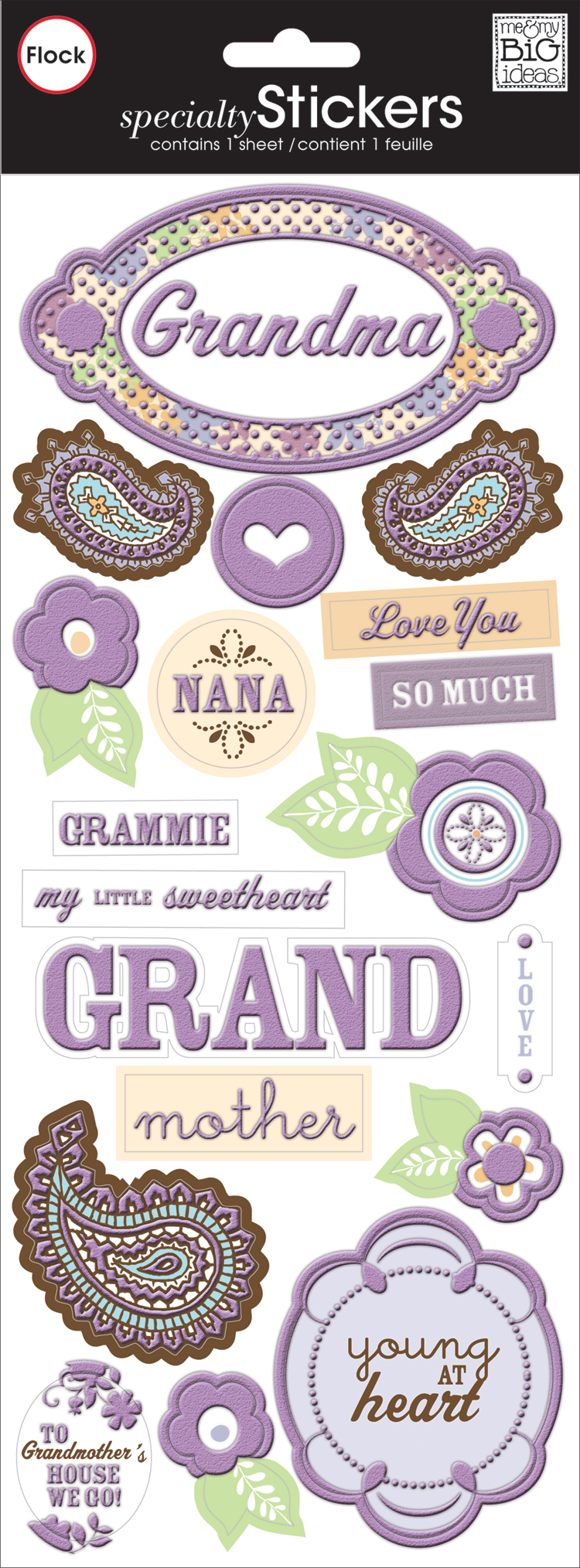 Rachel Grandma Specialty Sticker