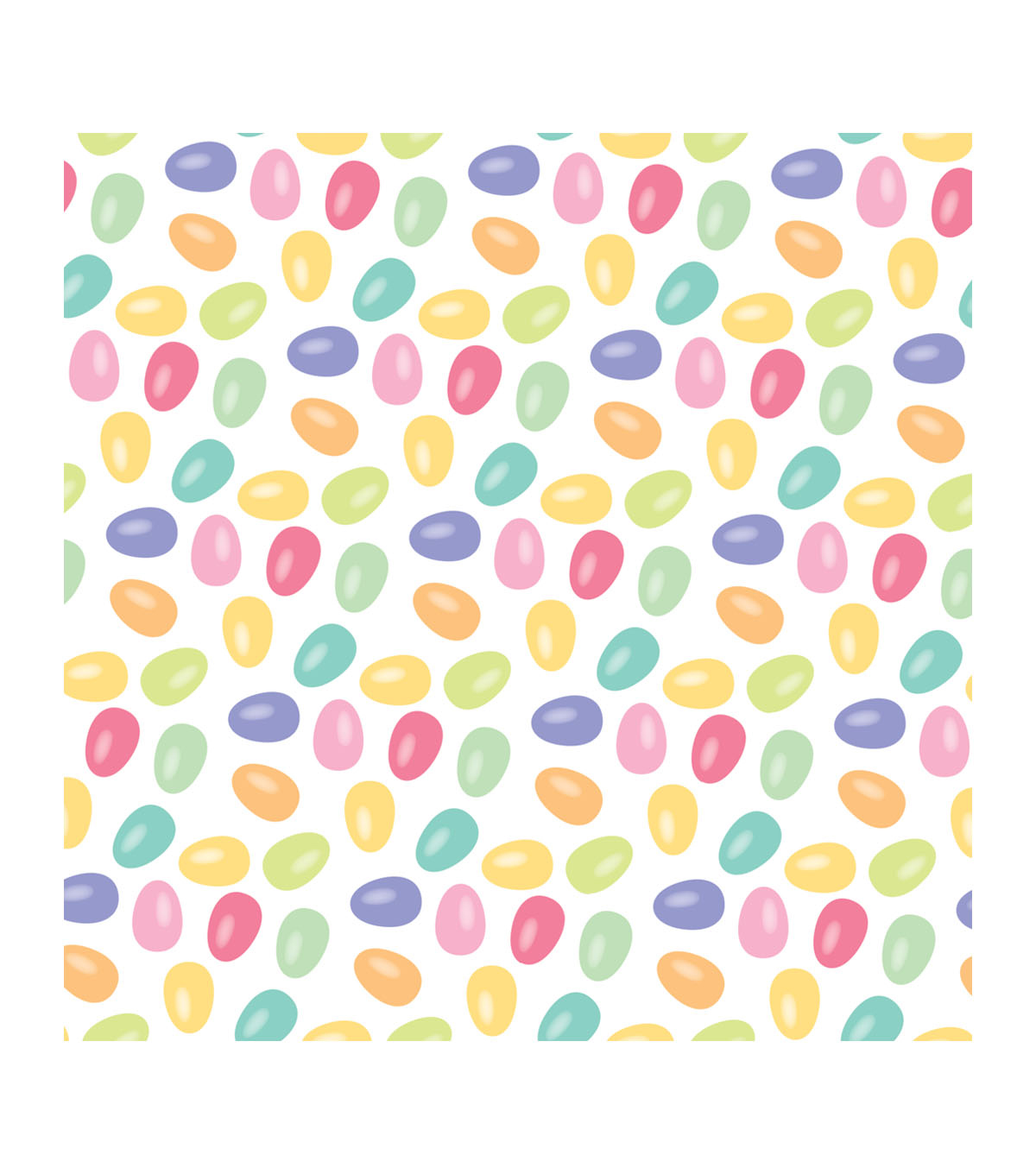 Easter Pack of 20 Paper Lunch Napkins-Jelly Bean
