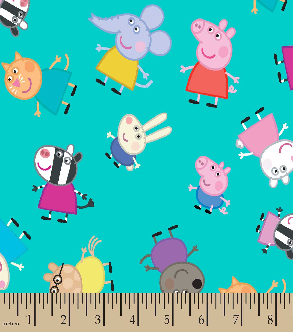 Peppa Pig™ & Friends Print Fabric | JOANN : peppa pig quilting fabric - Adamdwight.com