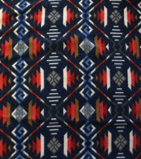 Southwest Knit Fabric 48\u0022-Imperial Navy