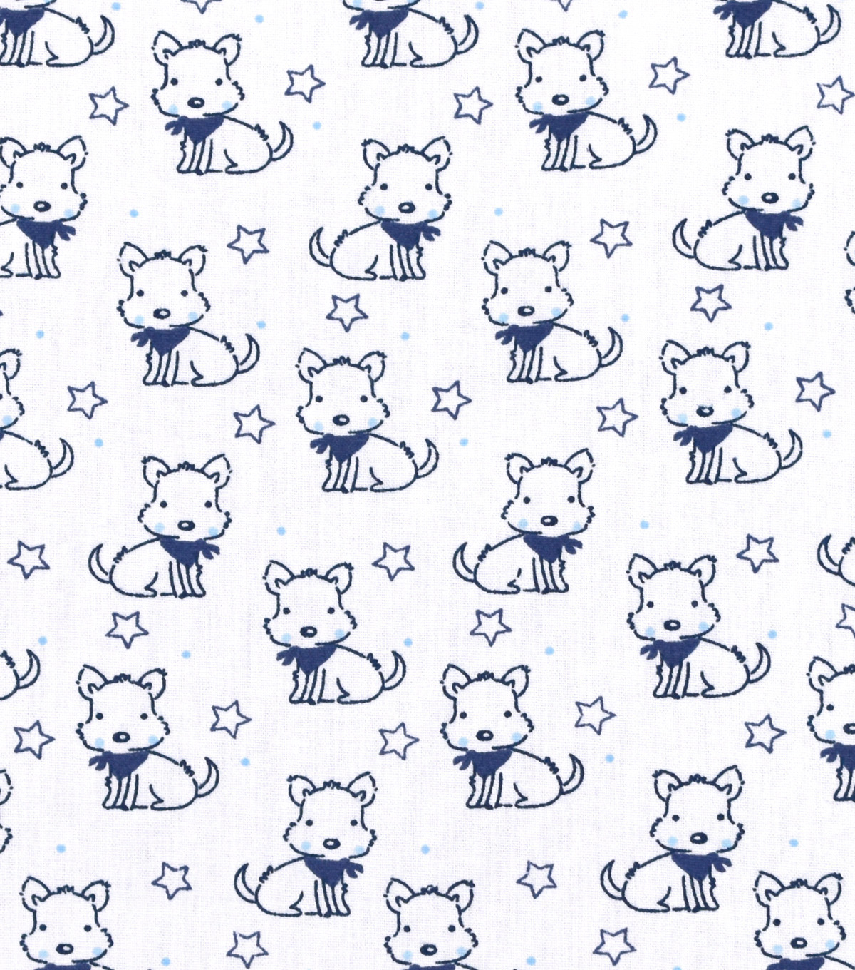 Nursery Cotton Fabric 43\u0022-Sketched Doggie