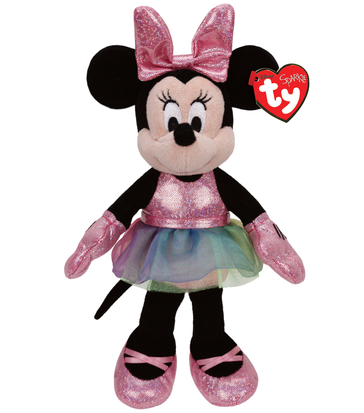 Ty Disney Minnie Mouse Ballerina Sparkle Medium