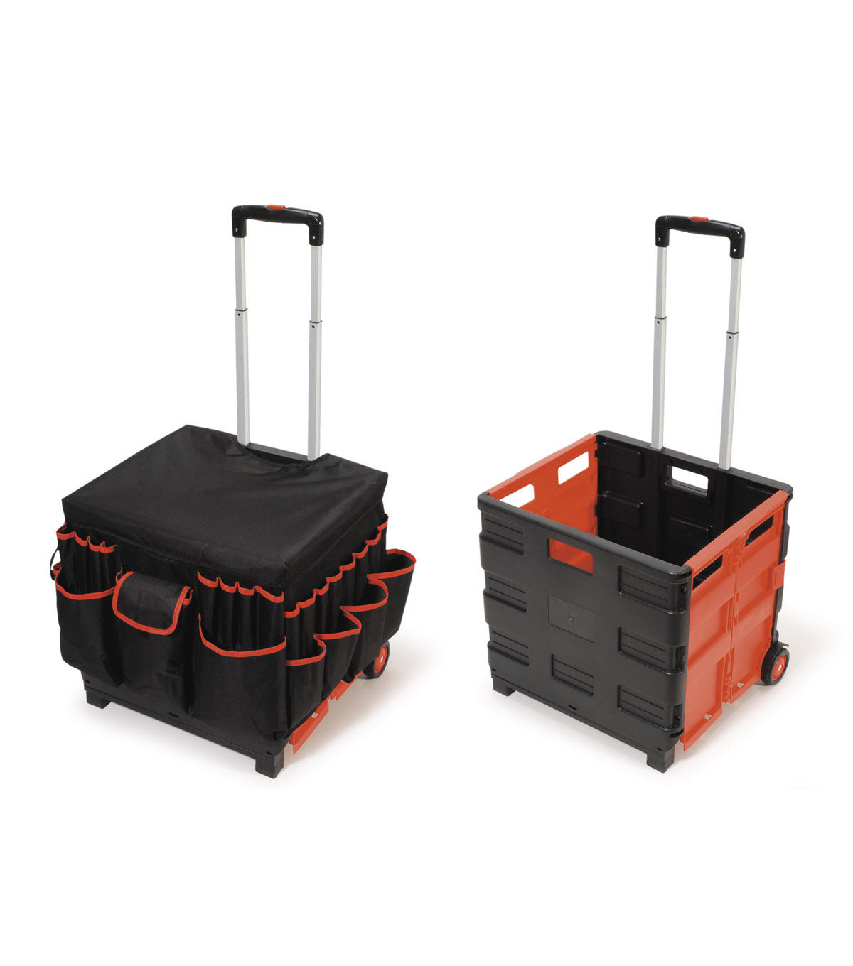 Collapsible Cart On Wheels Quest Folding Sports Wagon