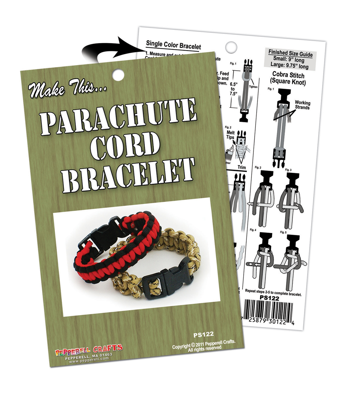 Parachute Cord Project Book