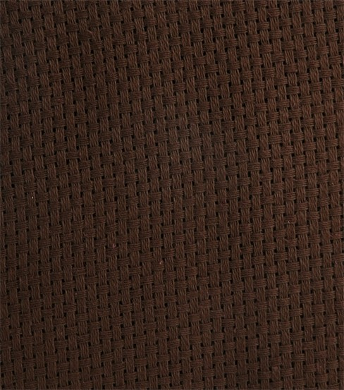 "Monk's Cloth Aida 7 Count 60"" Wide 10 Yards-Brown"