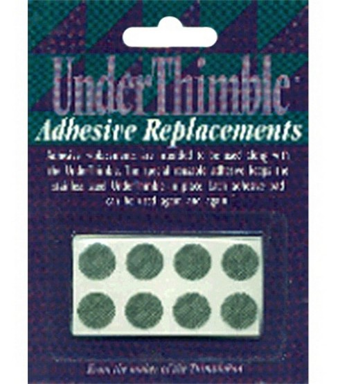 Under Thimble Adhesive Replacements-8 Pads