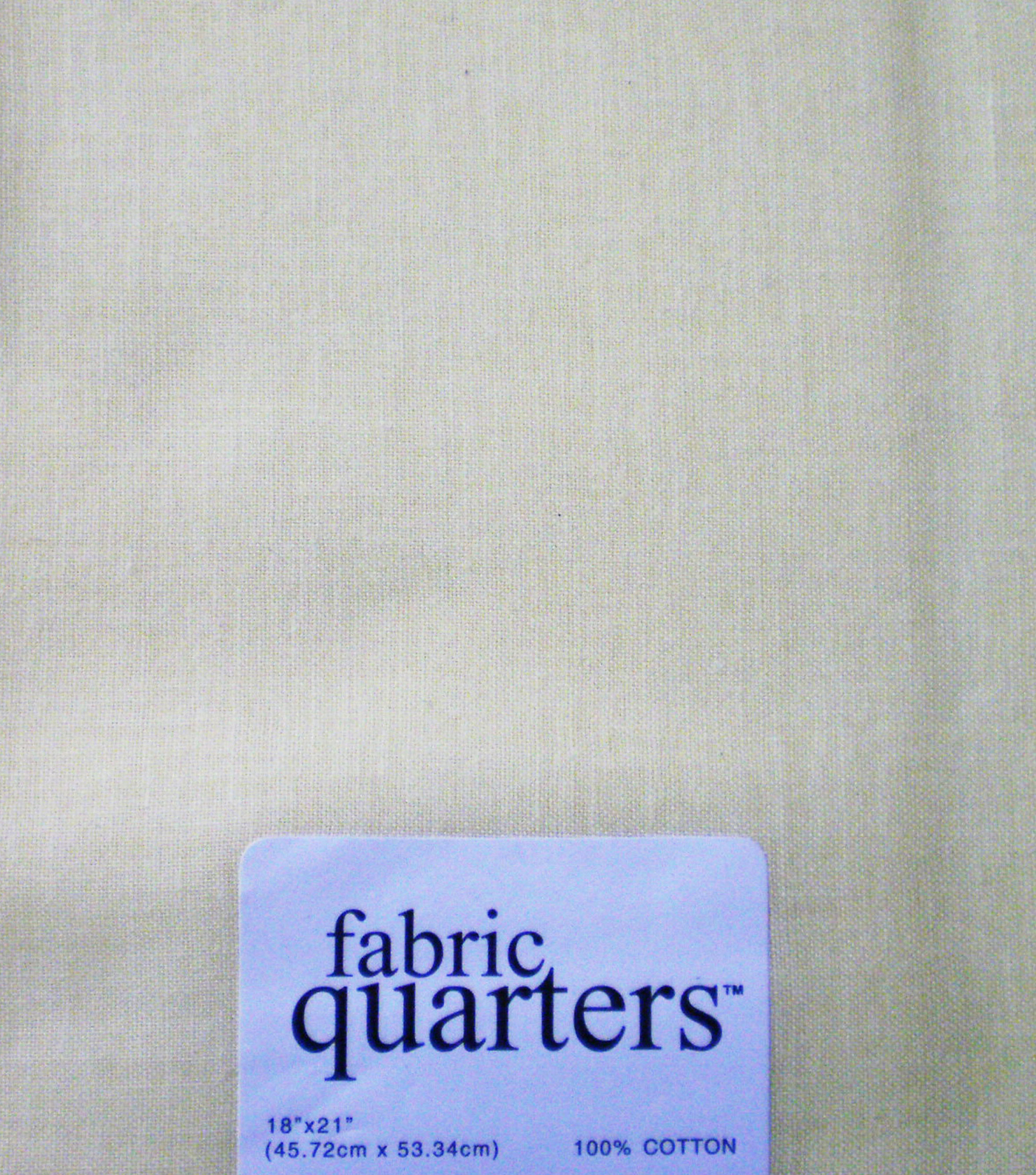 Fabric-Quarters Cotton Fabric-Solids Light Yellow