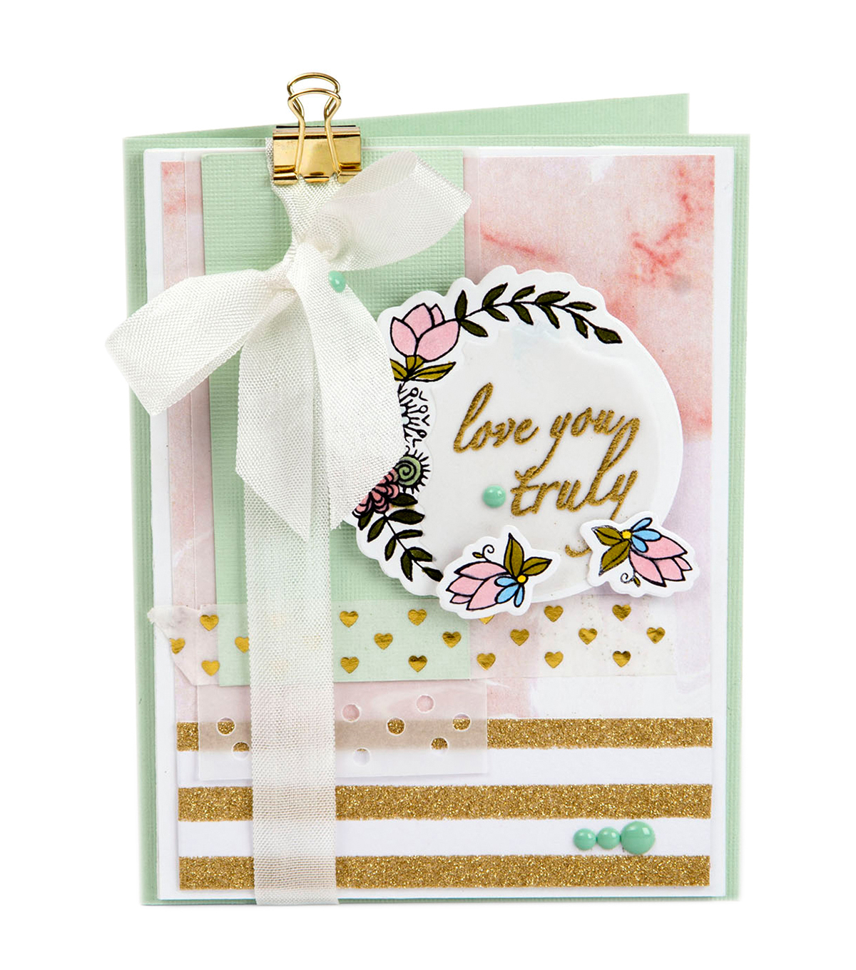 Sizzix® Framelits™ Dies with Stamps-Love You Truly