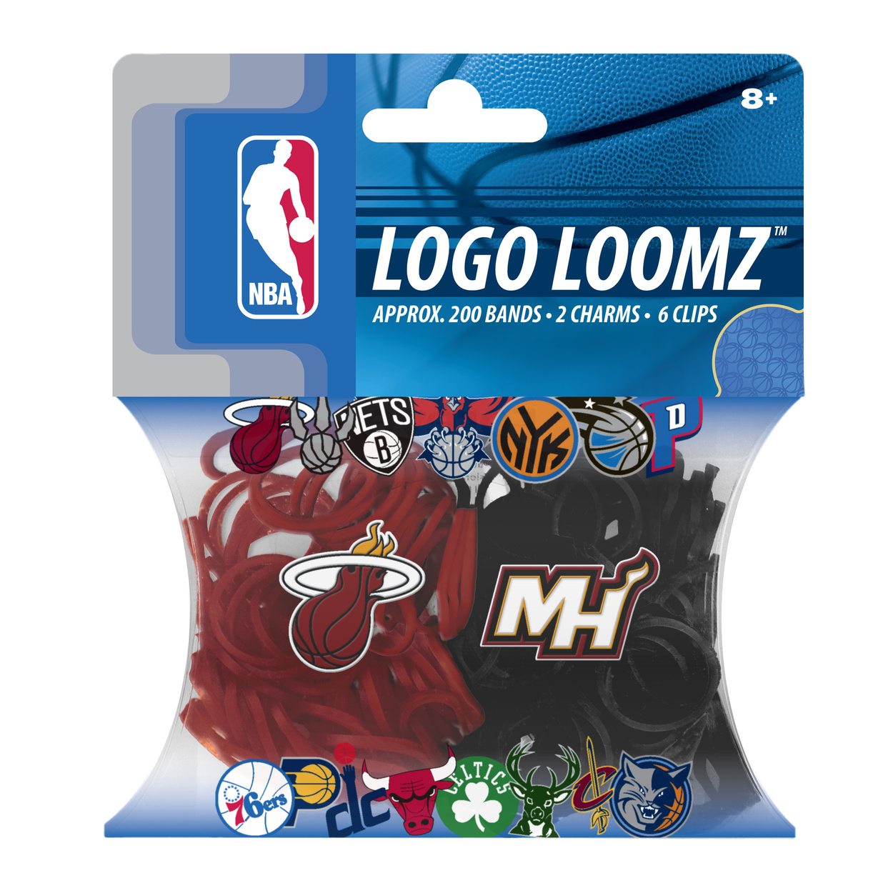 Miami Heat Logo Loomz Filler Pack by Forever Collectibles