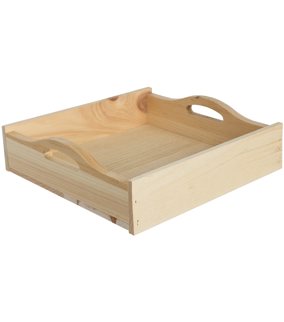 Walnut Hollow Square Rustic Tray