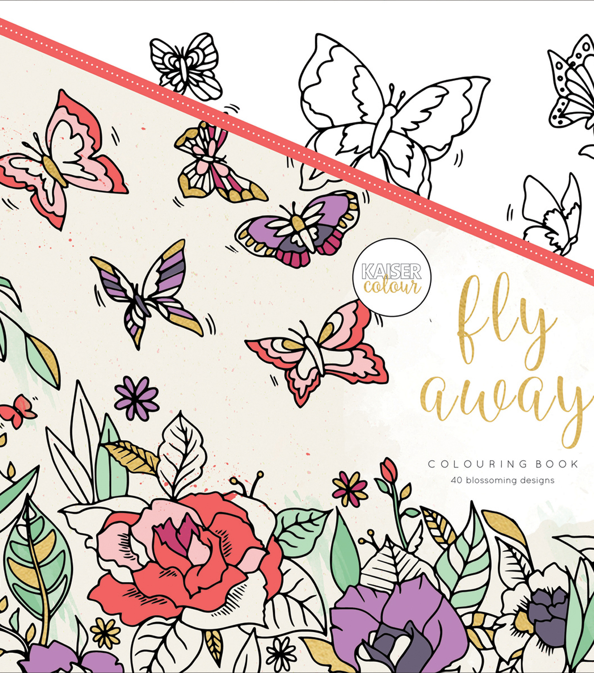 Fly Away -kaiser Coloring Book