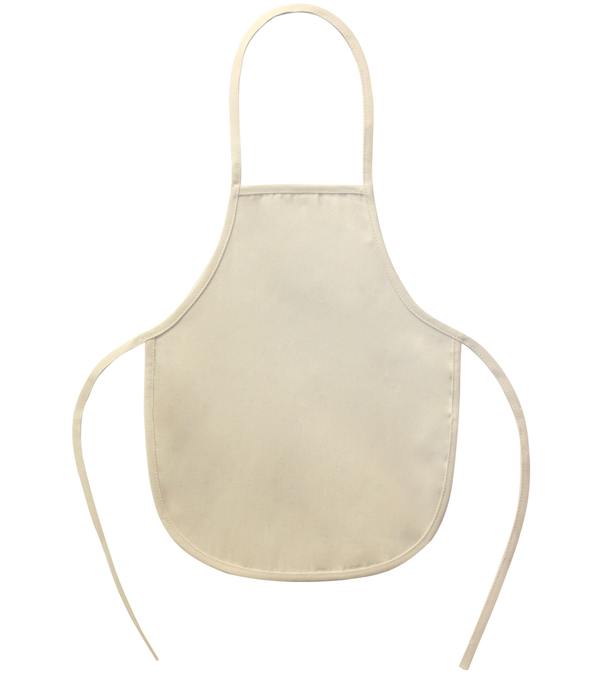 Twill Childs Apron 18\u0022X14\u0022-Natural