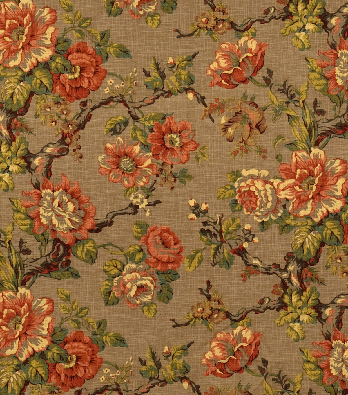 Home Decor 8\u0022x8\u0022 Fabric Swatch-Jaclyn Smith Halo-Caramel