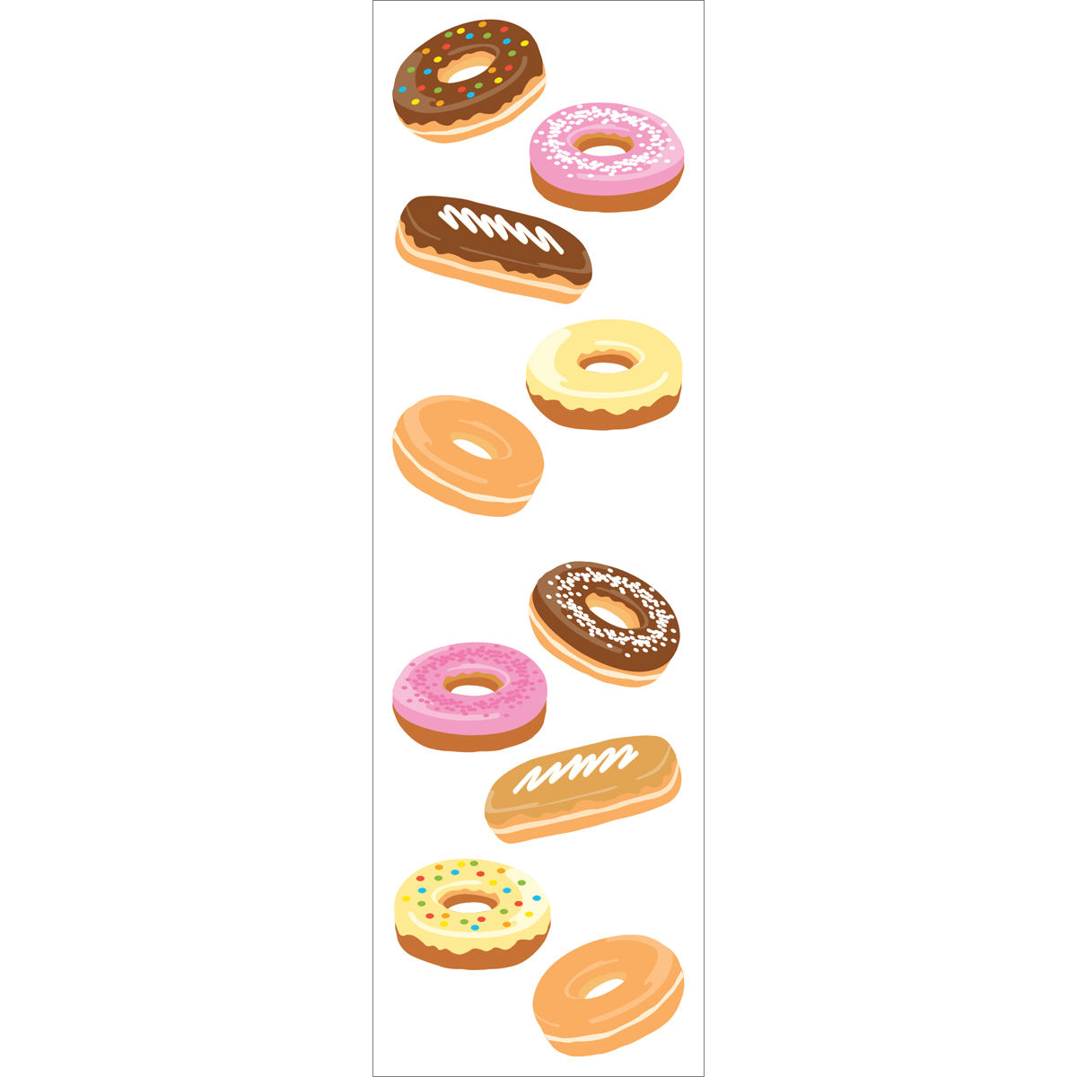 Mrs. Grossman\u0027s Stickers Frosted Donuts