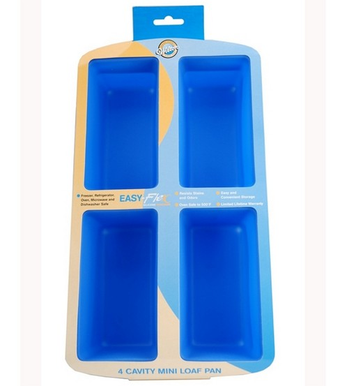 Wilton® Easy Flex Silicone Mini Loaf Pan