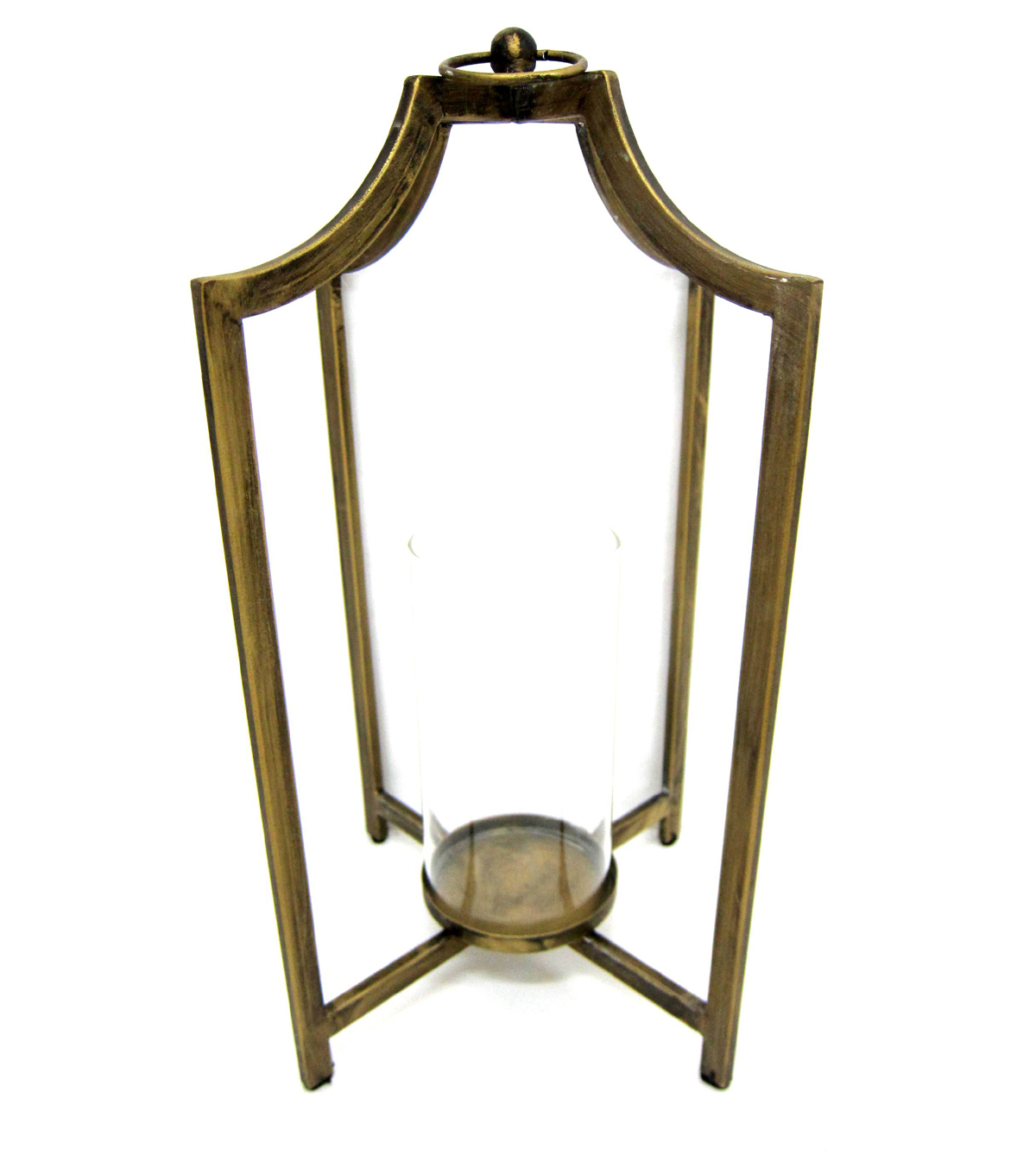 Fall Into Color Metal Candle Holder-Gold