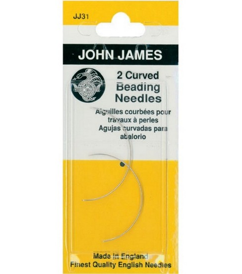 Colonial Curved Beading Needles-2/Pkg