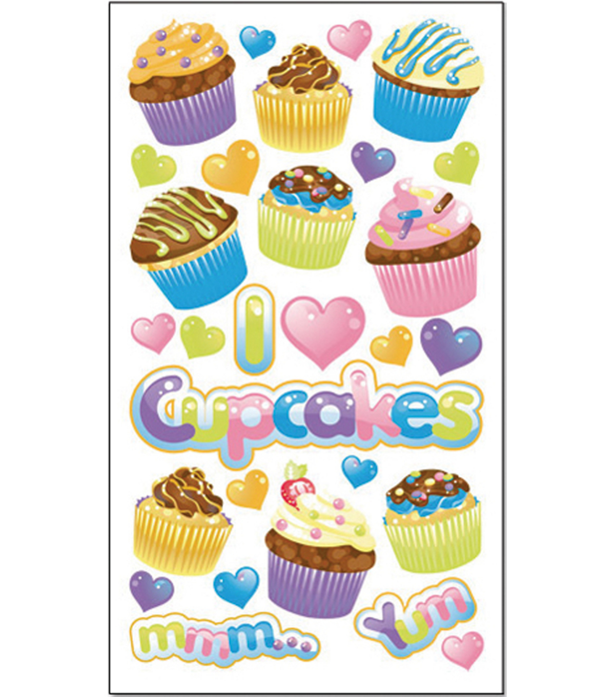 EK Success Sticko Classic Stickers-Party Goodies Glitter