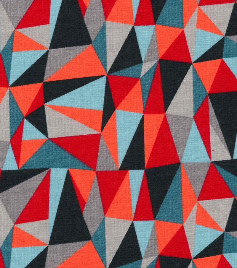 Keepsake Calico™ Cotton Fabric-Three Dimensional Geometrics