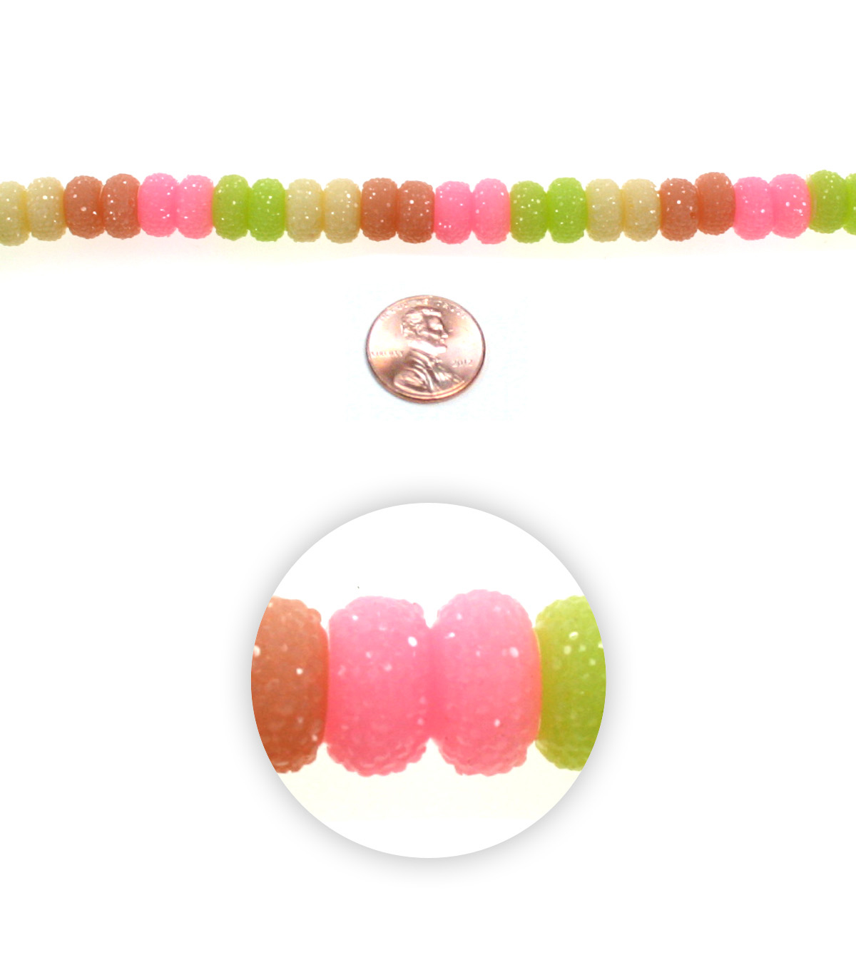 Advantus/Sulyn 7 in Sugar Rush Sparkle Bead Strand, Fruity Light