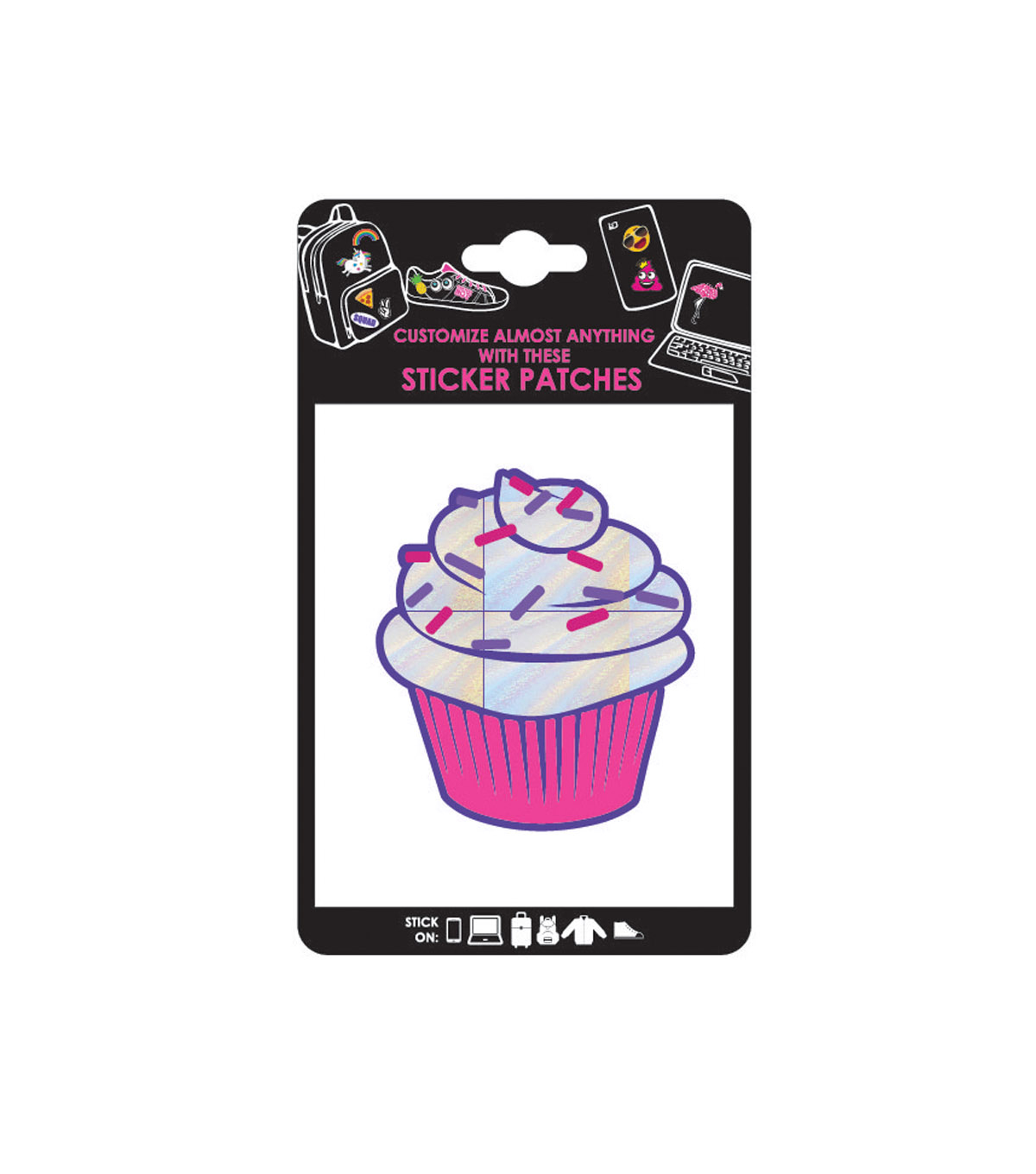 Cupcake Adhesive Patch