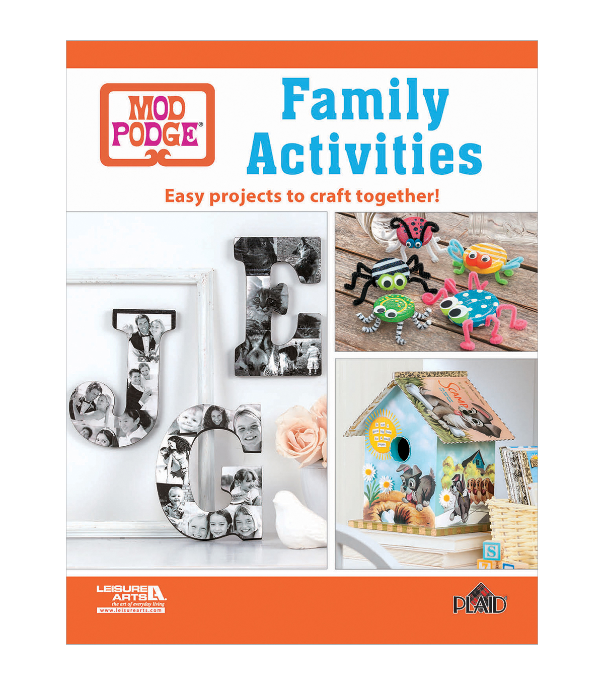 Mod Podge® Family Activities Craft Book