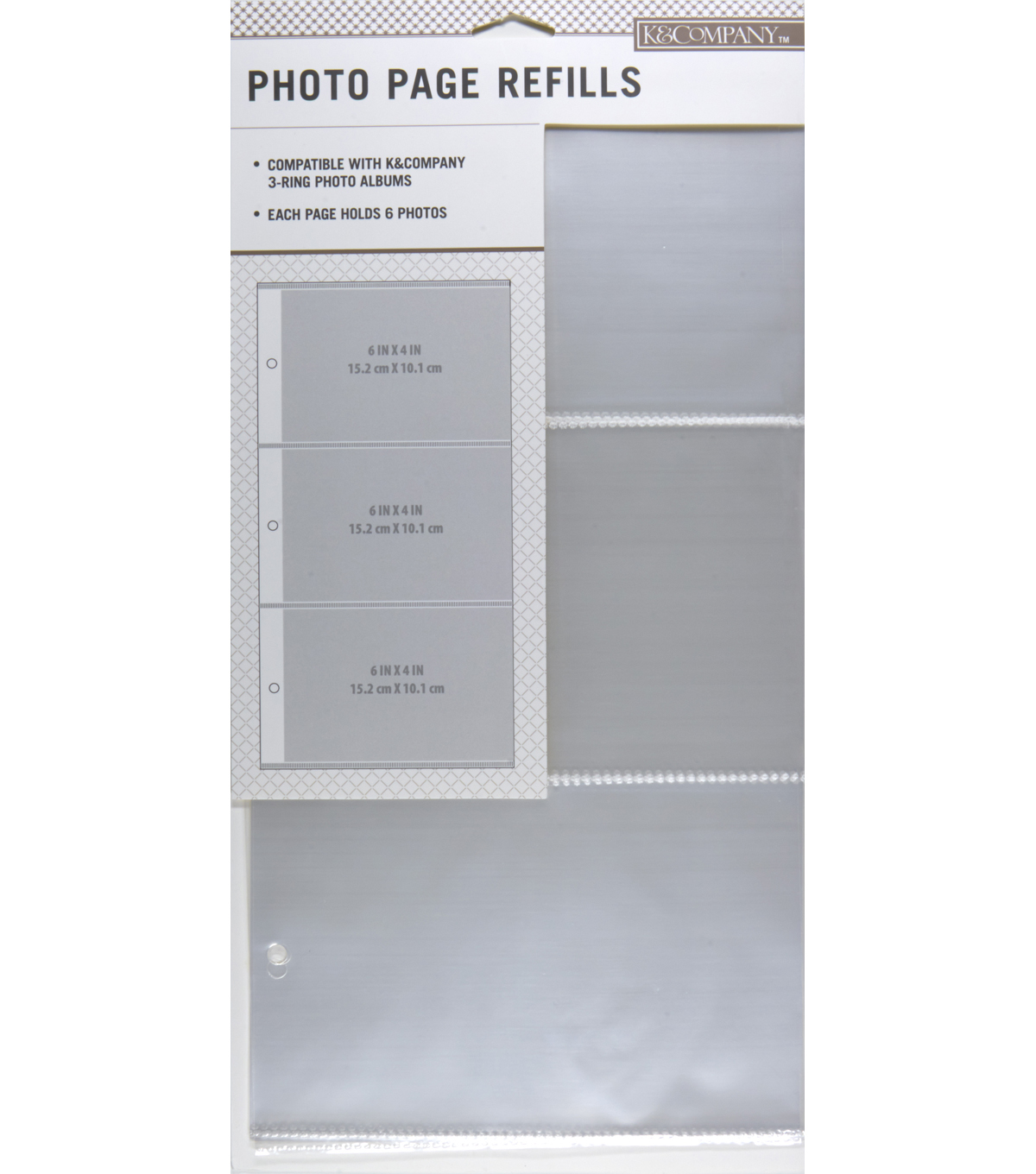 3 Up Binder Photo Alb Refills