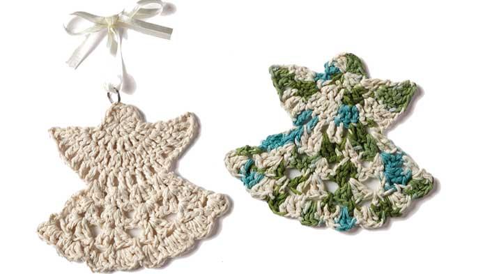 Crochet Angel Ornament