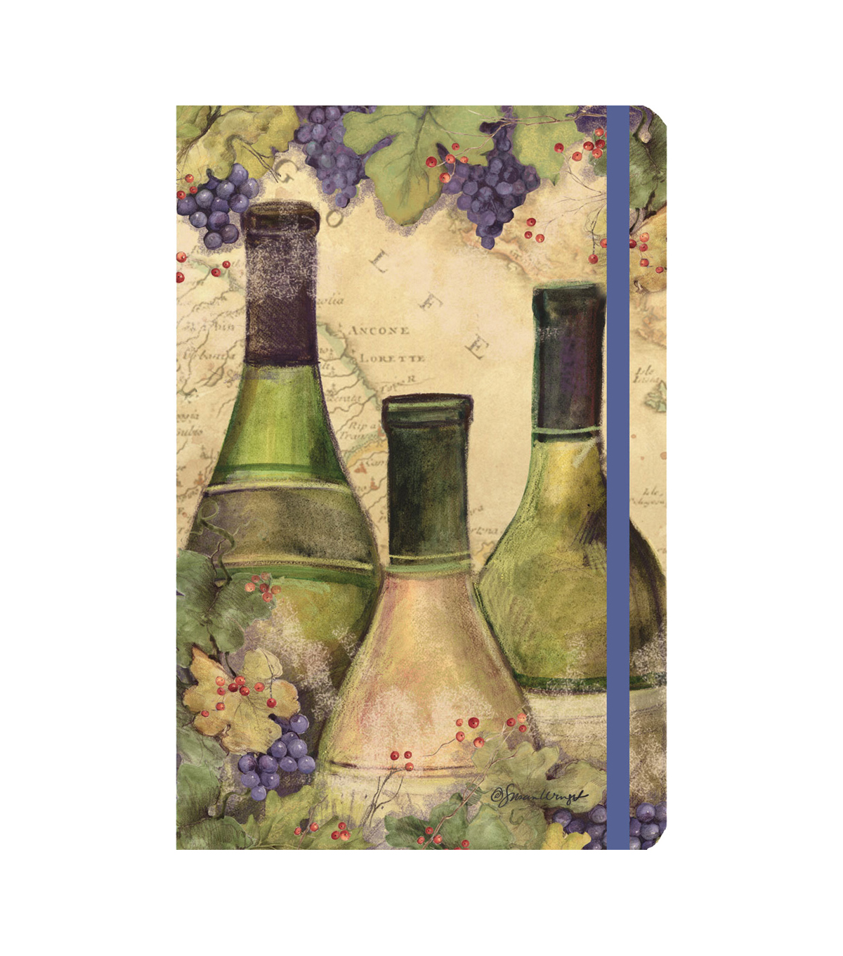 Susan Winget Three Bottles Wine Classic Journal