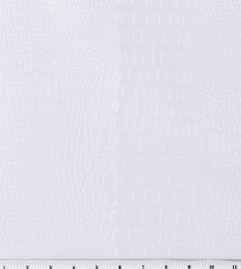 Home Decor 8\u0022x8\u0022 Fabric Swatch-Signature Series Vinyl Allie White