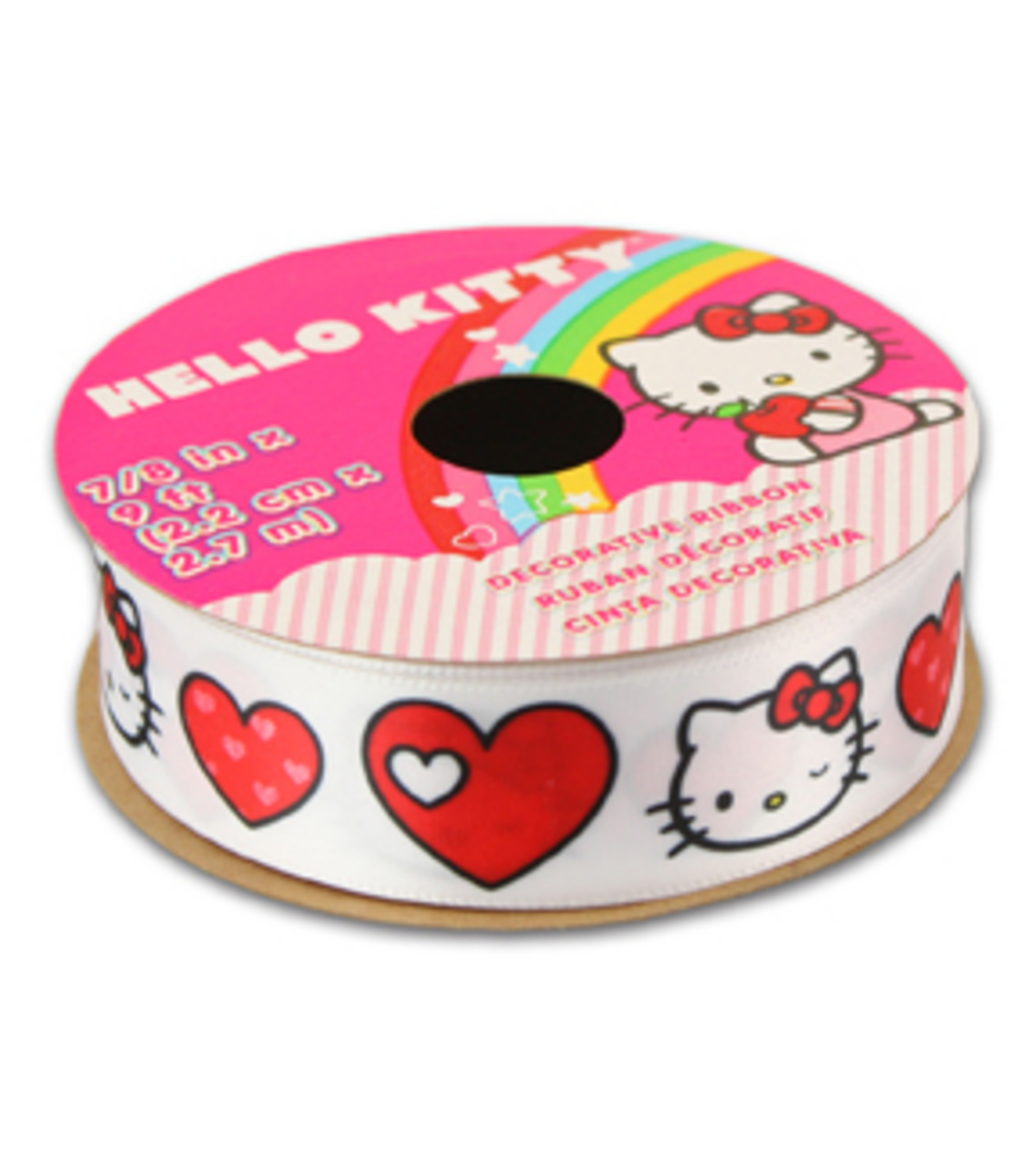 Hello Kitty® Valentines Ribbon-Hearts
