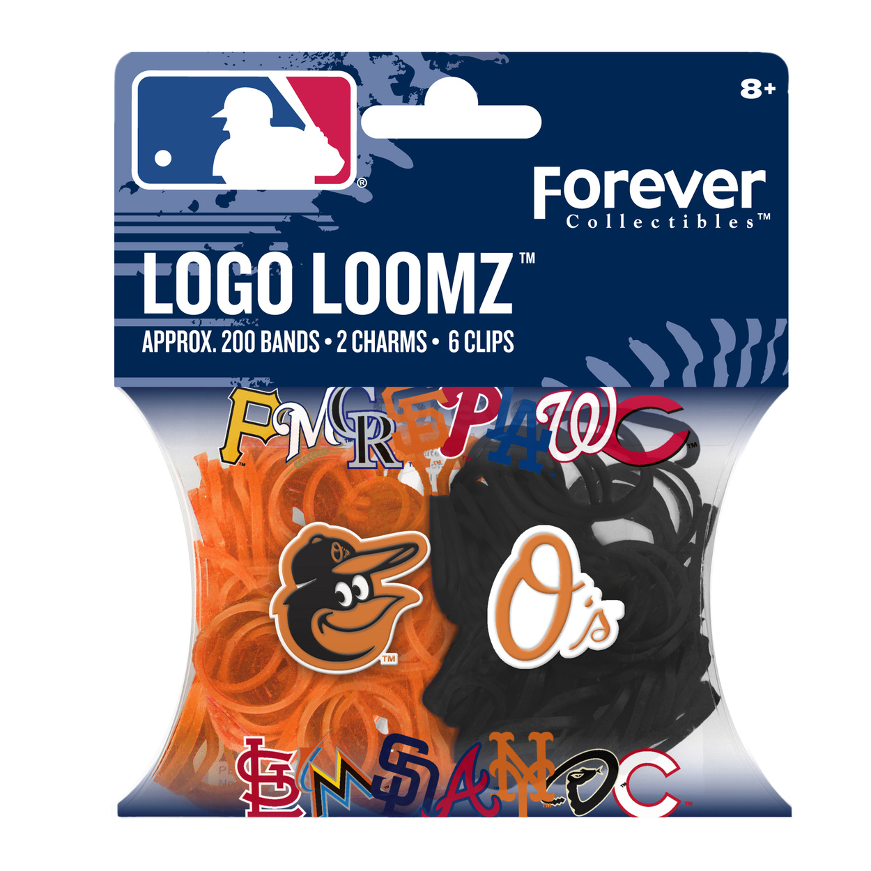 Baltimore Orioles Logo Loomz Filler Pack by Forever Collectibles
