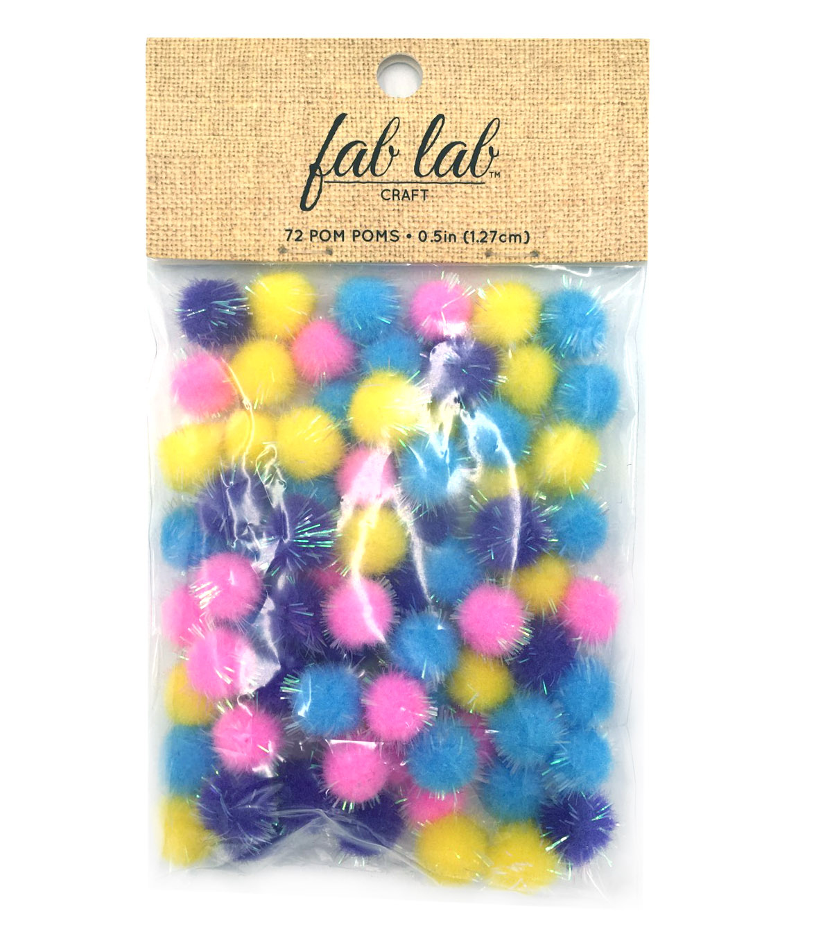 "Best Value 1/2"" Iridescent Poms"