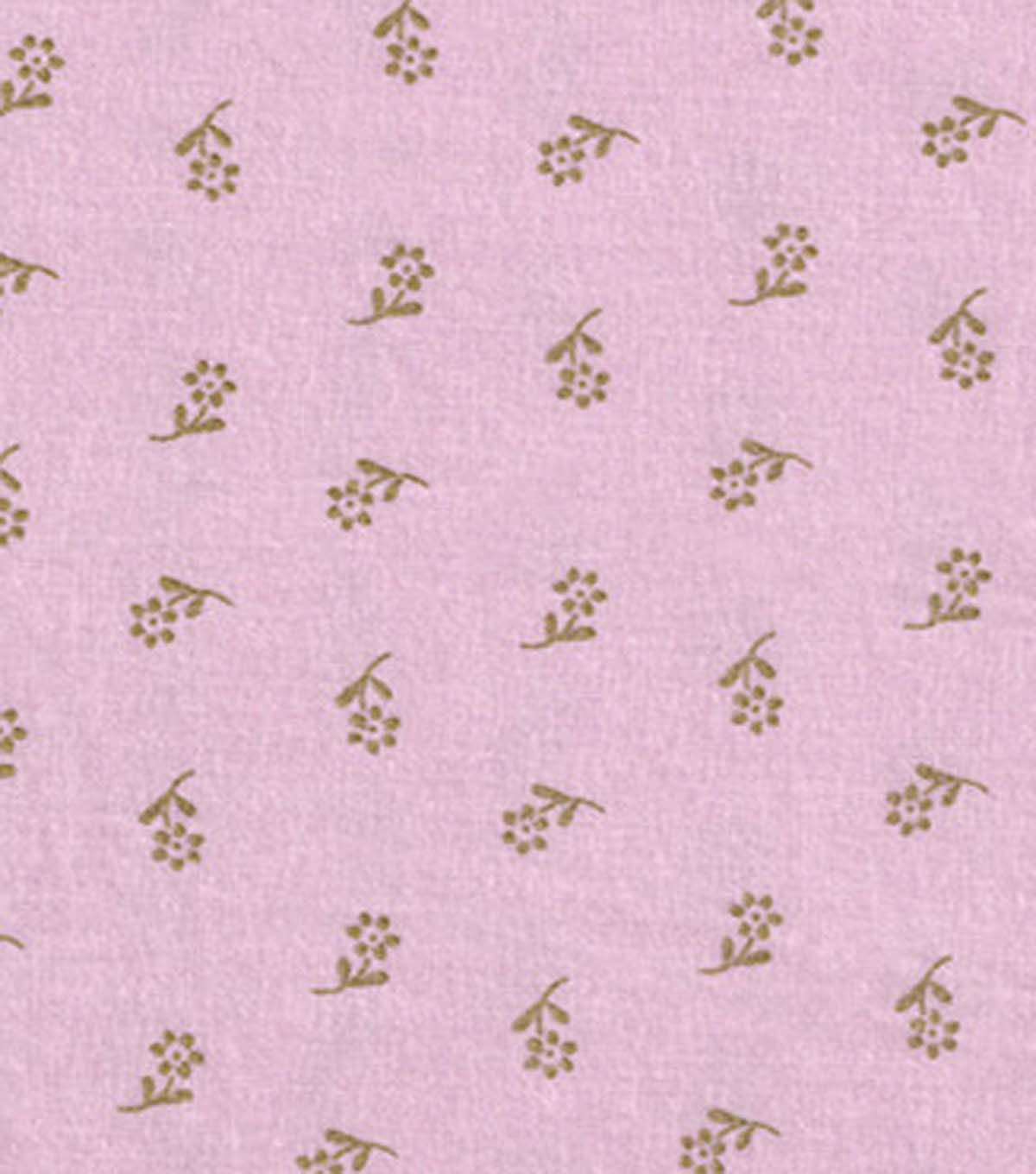 Keepsake Calico™ Cotton Fabric 43\u0022-Flowers On Pink With Gold Metallic