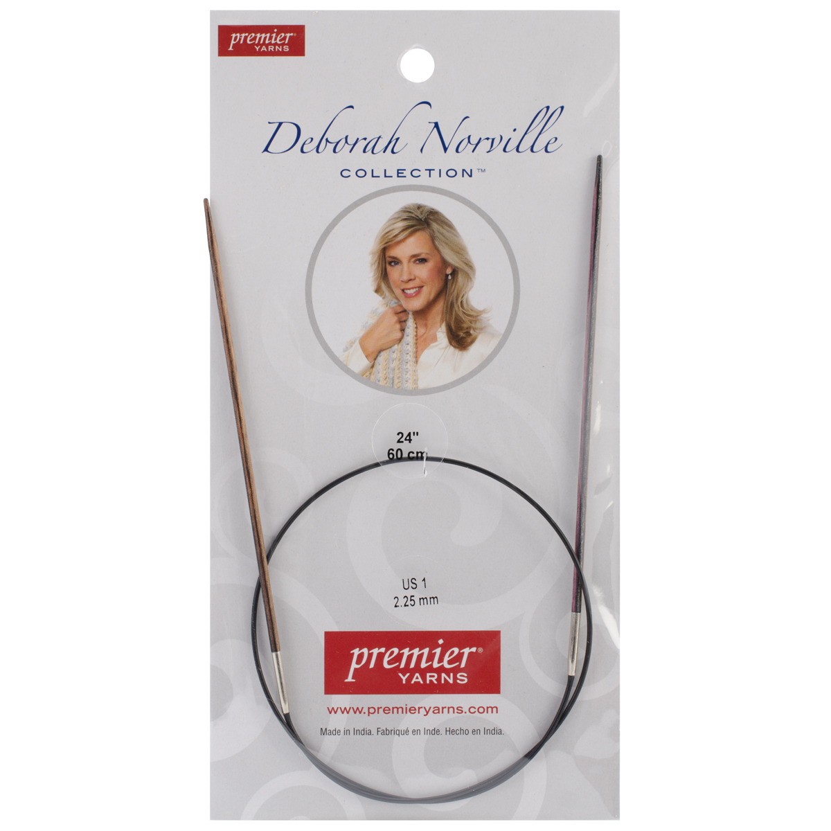 Deborah Norville Fixed Circular Needles 24'' Size 1/2.25mm