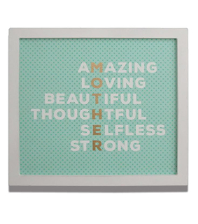 Mother\u0027s Day Wall Sign