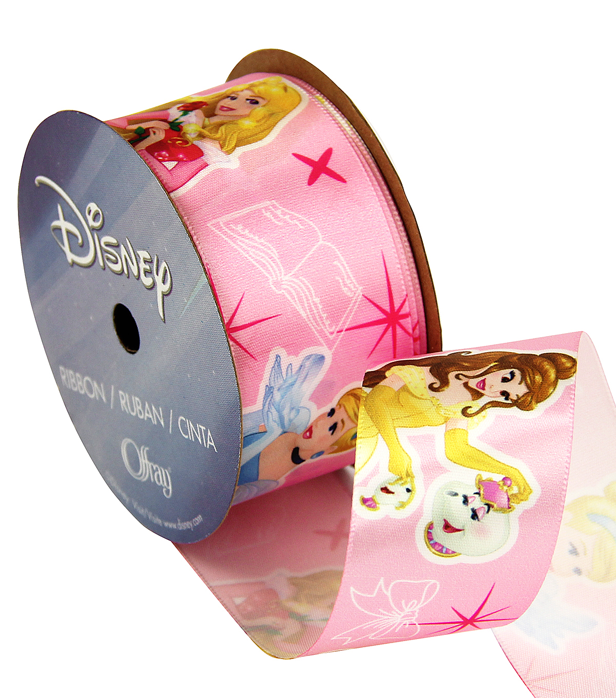 Disney Princesses 1 And Half In Ribbon