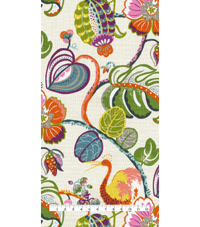 Genevieve Gorder Upholstery Fabric 54\u0027\u0027-Tropical Fete Rainforest