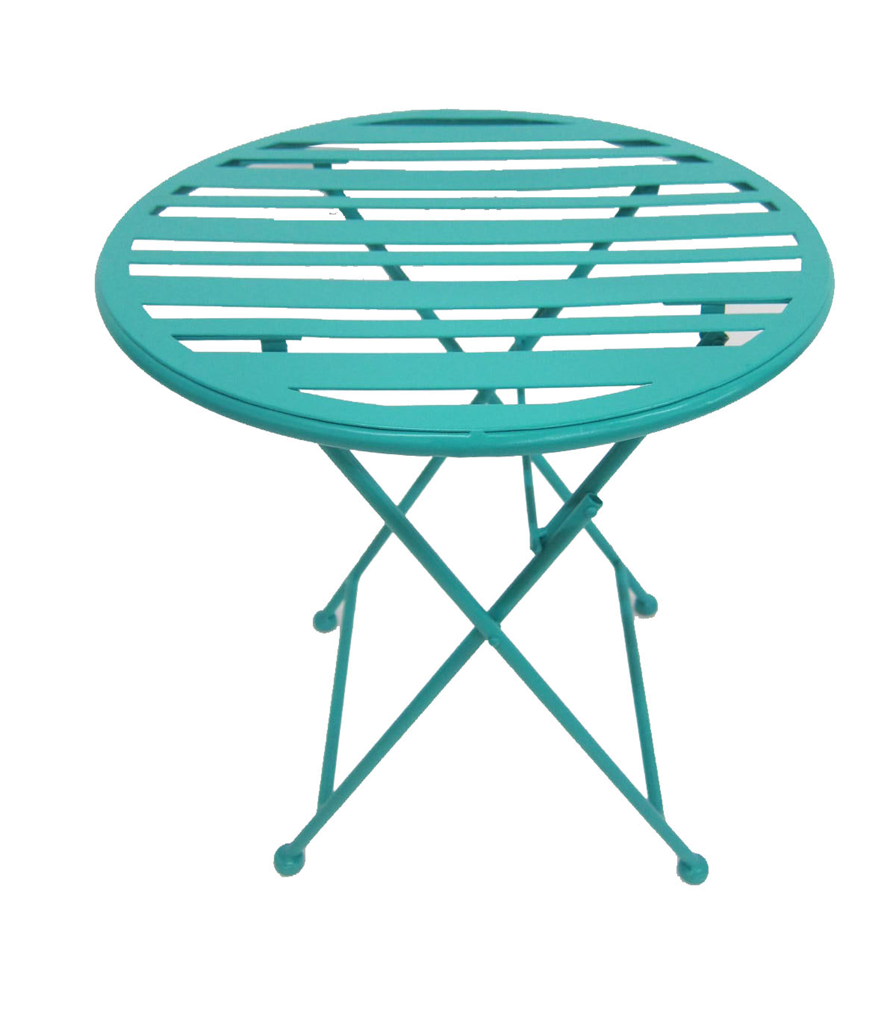 Summer Sol Metal Collapsible Table-Green