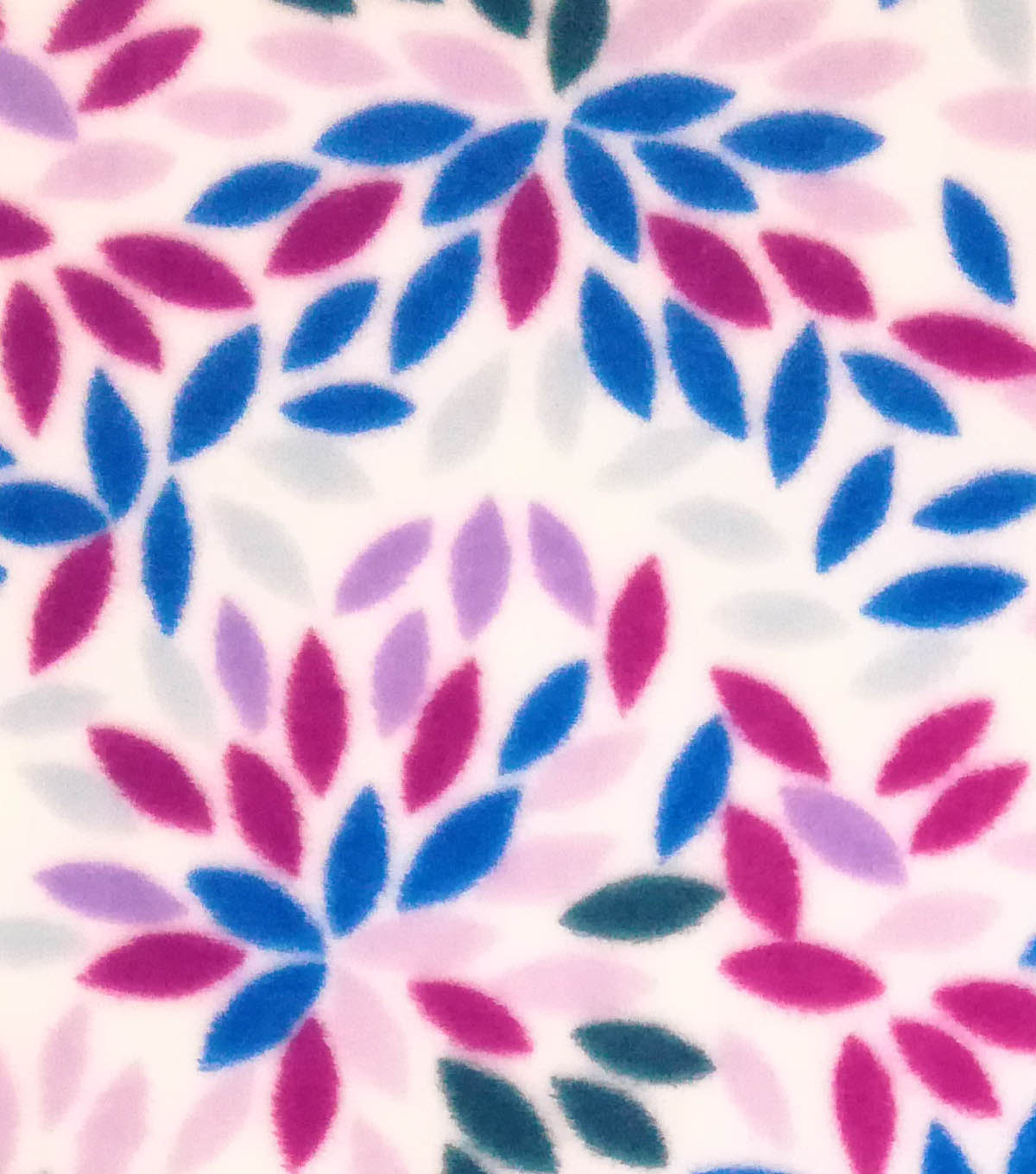 Sew Lush Fleece Fabric 57\u0022-Floral Burst