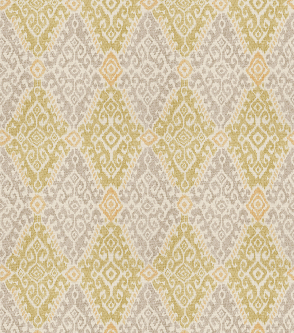 Eaton Square Print Fabric 54\u0022-Maple/Citrus