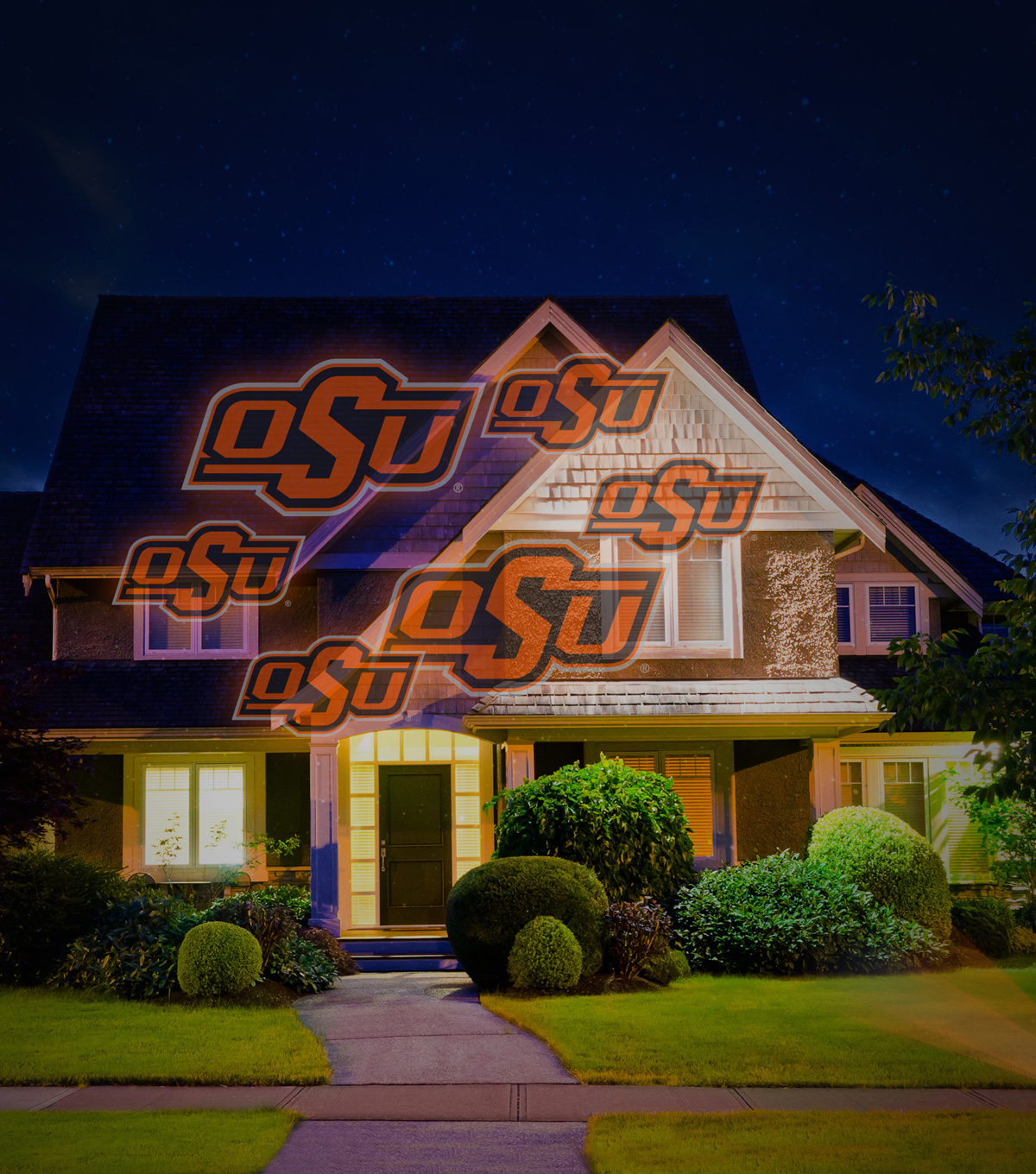 Oklahoma State University Cowboys Team Pride Light Projector