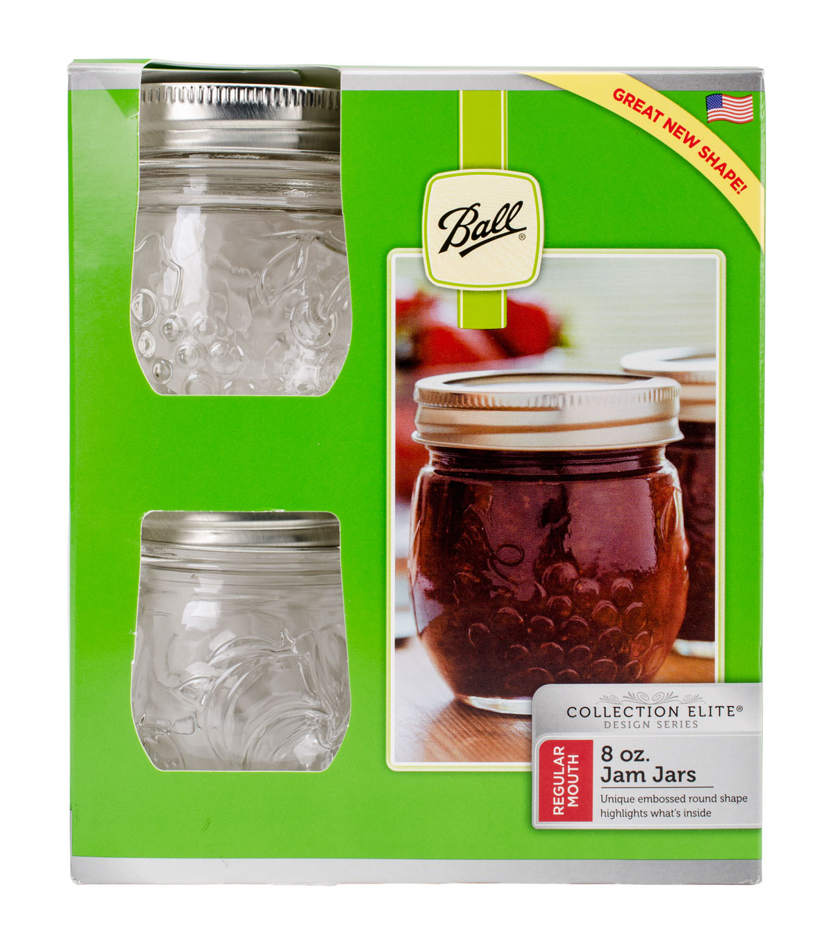 Ball Regular Mouth Jelly Jar-Half Pint - Elite Collection